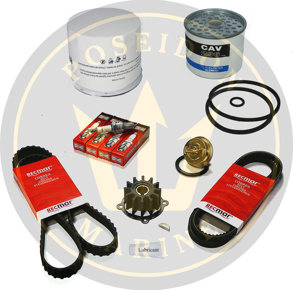 Service kit for Volvo Penta AQ171 RO: 3517857 3581078 875580 855506 966382
