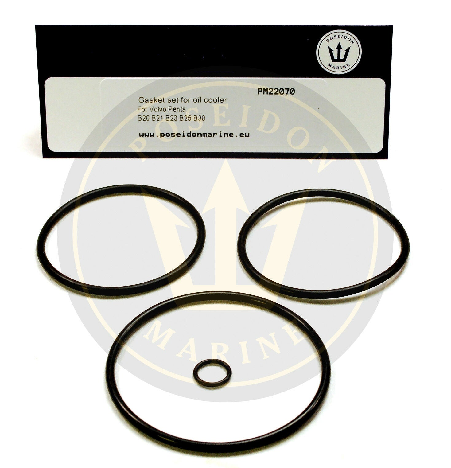 Oil cooler seal kit for Volvo Penta AQ120 AQ130 AQ140 AQ145