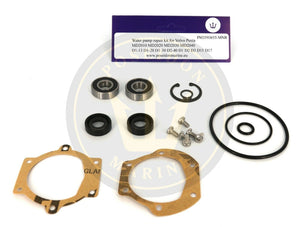 Water pump kit for Volvo Penta MD11 MD17 MD2010 MD2020 MD2030 D1-13 D1-20 D1-30
