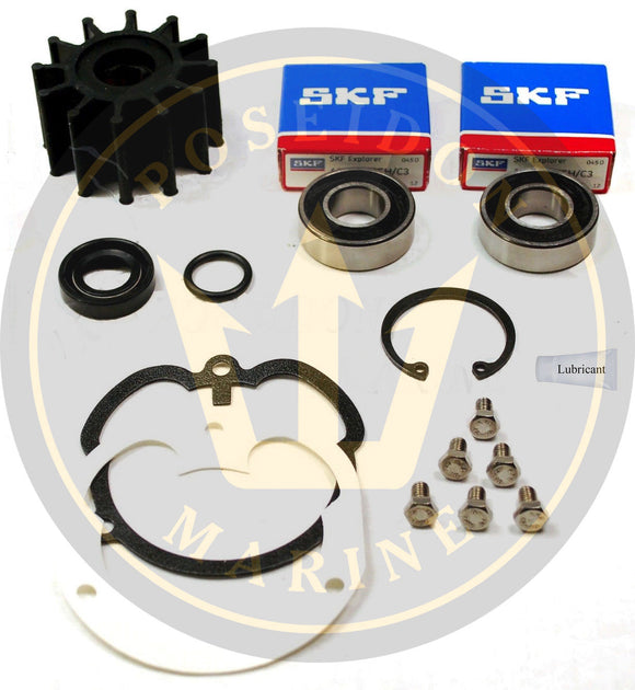 Raw Water Pump Repair kit for Volvo Penta OMC Pumps 3857794 3858847 3862281
