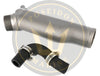 Exhaust Elbow for Yanmar 2QM 2QM20 , replaces : 724770-13200