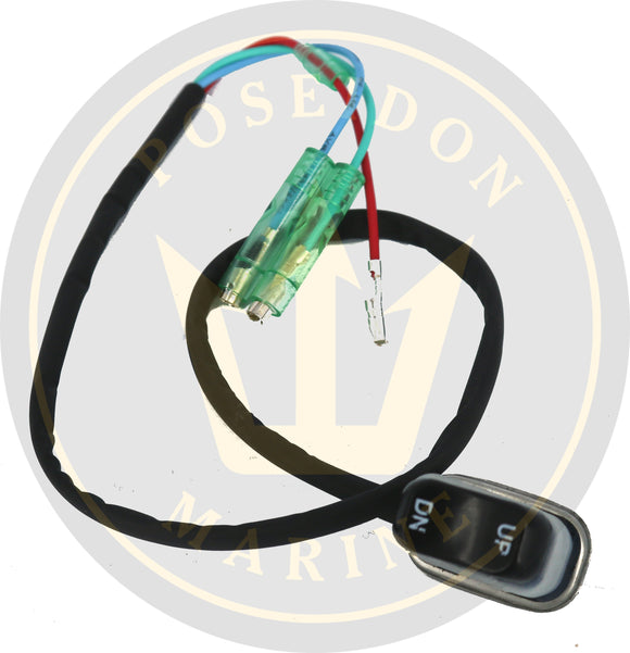 Trim and tilt switch for Yamaha control box side mount RO 703-82563-12 703-82563