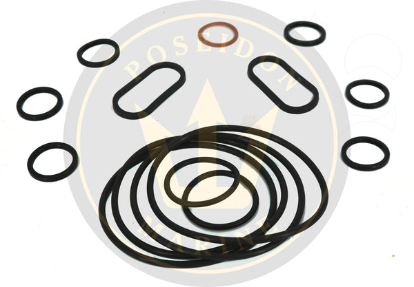 Oil cooler seal kit for Volvo Penta 31 41 43 44 inc 469483 859086 3 bolt cap