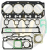 Head gasket set for Yanmar 4LHA-DTE DTP DTZE RO : 719173-92600 with 119174-01340
