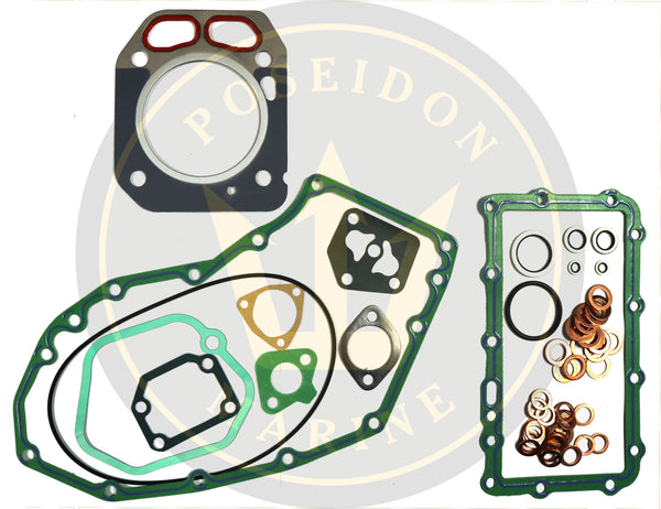 Head gasket set for Yanmar 1GM10 RO : 728171-92601 with 128171-01911