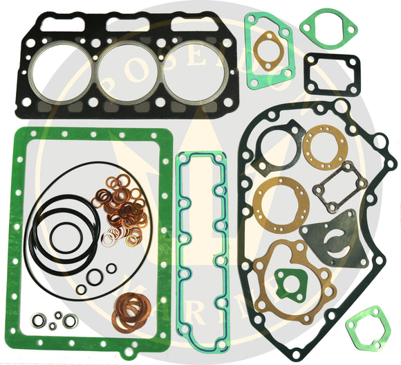 Head gasket set for Yanmar 3GM30 3GM30F RO : 728374-92605 with 128374-01911