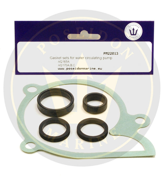 Circulation Pump Seal kit for Volvo Penta AQ165 AQ170 Pump 831742