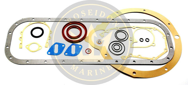 Conversion Gasket Set for Volvo Penta AQ165 AQ170 RO : 876306 875403 18-2814