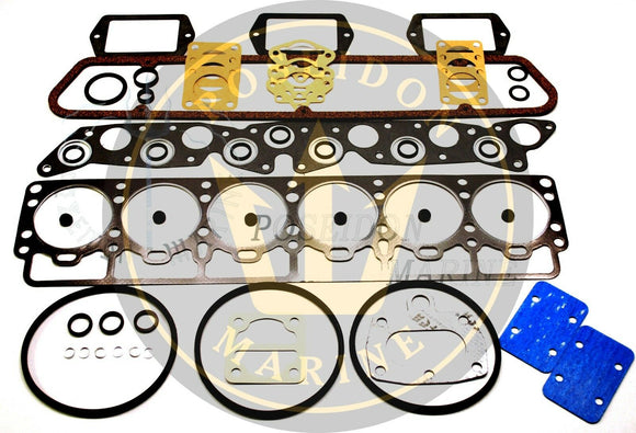 Head Gasket Set for Volvo Penta AQ165A AQ170A AQ170B BB165A BB170 RO : 876335 876337 18-2816
