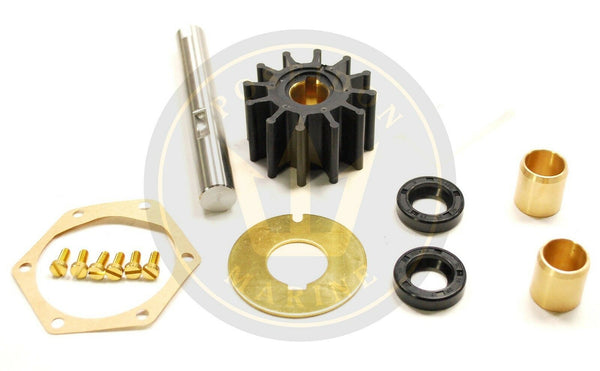 Water pump repair kit for Volvo Penta AQ165 AQ170 AQD21 MD21 RO: 875383 875575