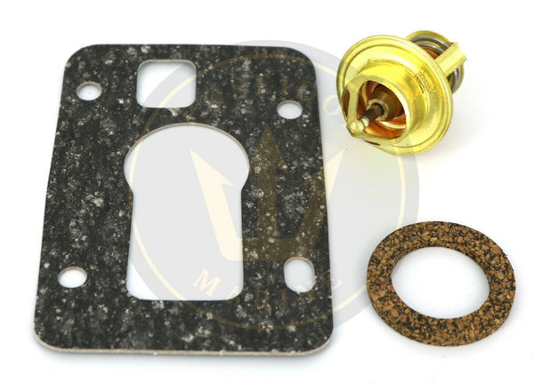 Thermostat kit 160F for Volvo Penta 3.0GS GSM-A GLM-A GLP-A GSM-B RO: 3853799 18-3558