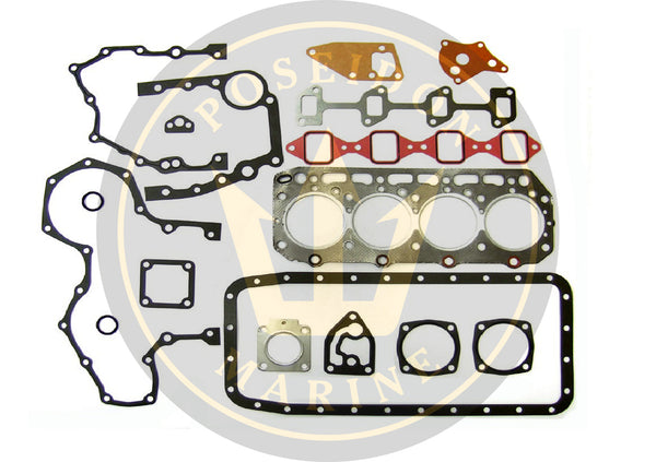 Head gasket set for Yanmar 4JHE 4JHTE 4JHDTE RO : 729470-92605 with 129553-01350
