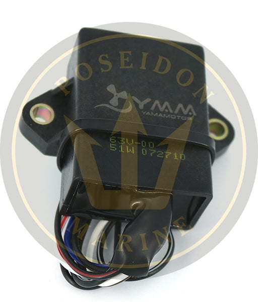 CDI UNIT for 9.9 15 hp Yamaha outboard power pack 2 str 2005-2008 63V-85540-01