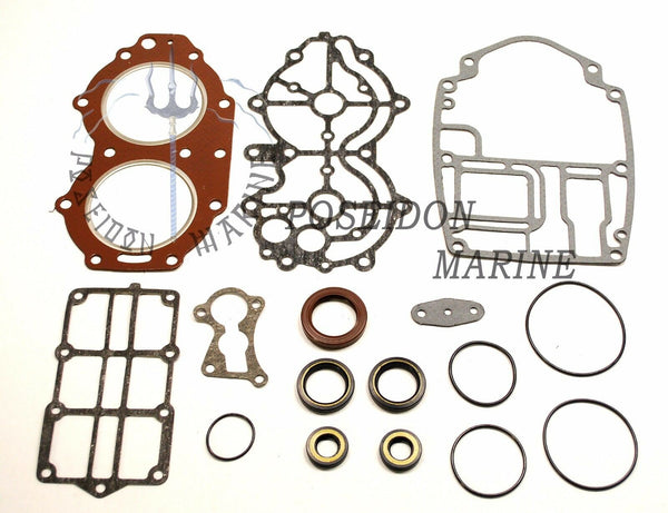 Powerhead gasket set for Yamaha E40X RO: 66T-W0001-01 66T-W0001-02