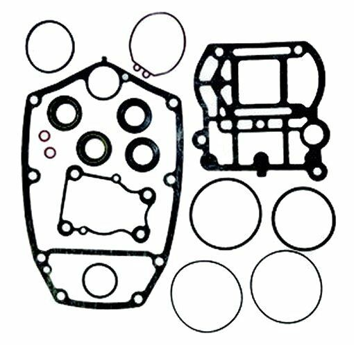Lower unit gasket set for Yamaha 40X 40HP two stroke RO: 66T-W0001-20 66T