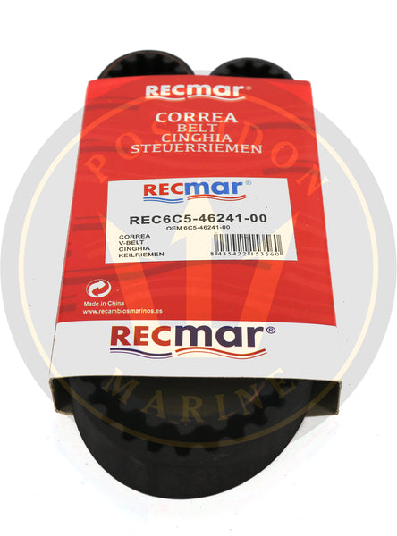 Timing Belt For Yamaha Outboard F25-F70 4-Stroke 6C5-46241-00 Sierra 18-15130