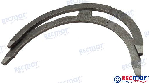 Thrust bearing STD for Yanmar 3JH 4JH RO: 129150-02931
