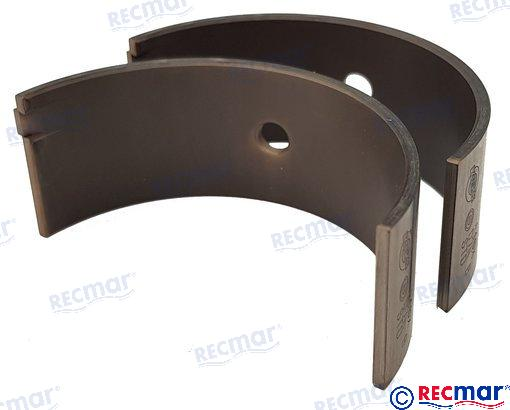 Main bearing STD for Yanmar 3JH2 4JH2 RO: 129150-02800