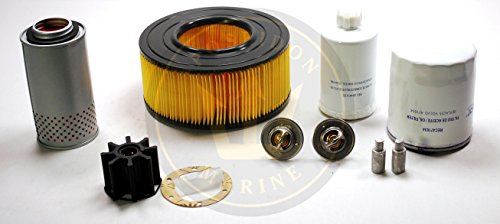 Service kit for Volvo Penta D41 RO: 471034 3840335 3831424 858488 876069