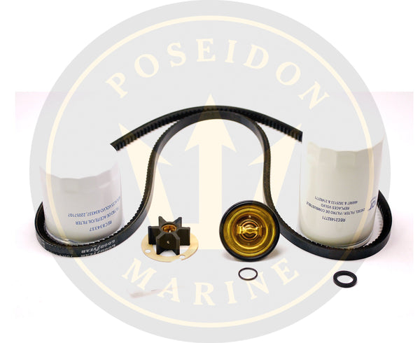 Service kit for Volvo Penta MD7A RO: 834337 21492771 3586496 21951342 875796 966933