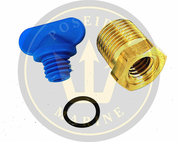 Manifold Drain Plug kit for GM Volvo Penta RO: 479956 4.3 5.0 5.7 7.4 8.2