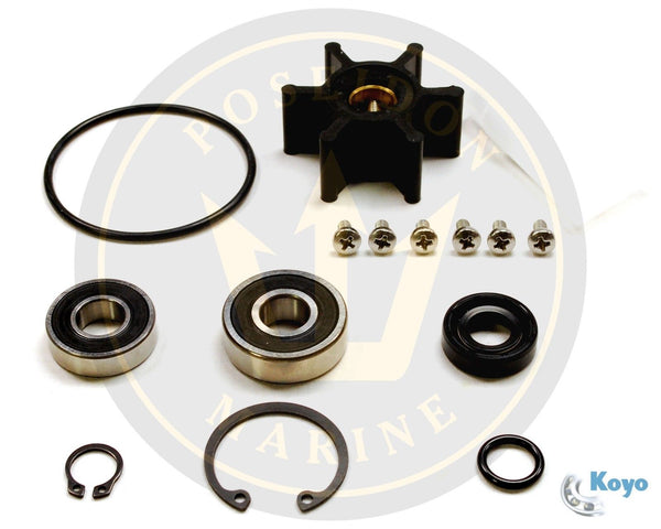 Water pump kit for Yanmar 2GM/3GM -YEU 2YM 3YM X03431748 X03431760 128990-42200