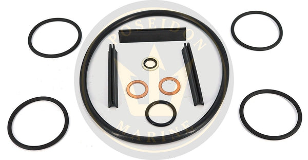 Heat exchanger seal kit for Volvo Penta AD31 AQAD31A AD41 AQAD41 TMD31