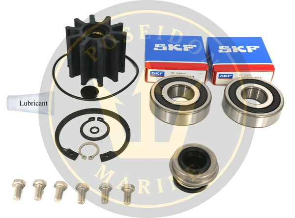 Sea water pump repair kit for Volvo Penta D4 pump 3584062 with 3583609 3588475