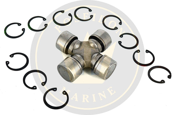 Cross and Bearing U-Joint for MerCruiser RO : 865496A02 18-6406