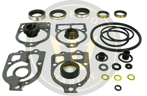 Gearcase seal kit for Mercruiser I, R, MR and Alpha I RO: 26-33144A2 18-2652