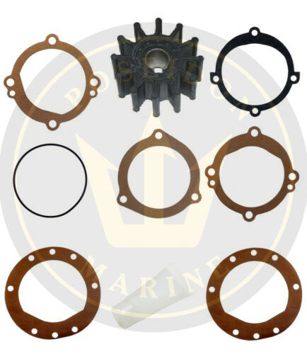 Impeller kit for Volvo Penta AQ190A AQ240A RO: 835874 981939 18948-0001 10615K