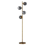 Sphere Gold Floor Lamp Detail
