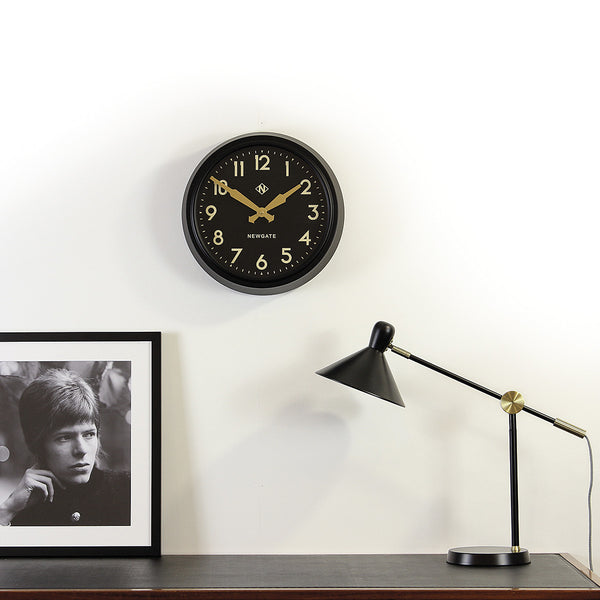 50s style wall clock