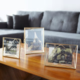 5x7 brass photo frame