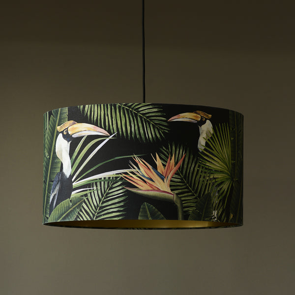 birds of paradise pendant light