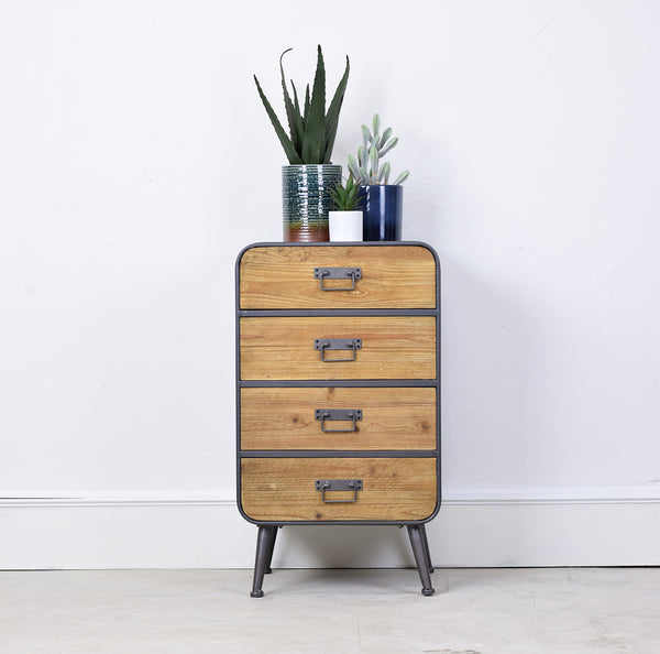 4 drawer metal cabinet