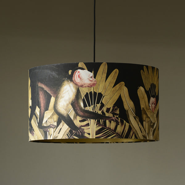 monkey pendant light