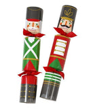 nutcracker Christmas crackers close up