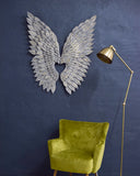 Metallic Wings Wall Art