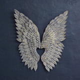 metal angel wings wall art