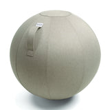 sitting balance ball grey