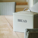 large bread bin close up