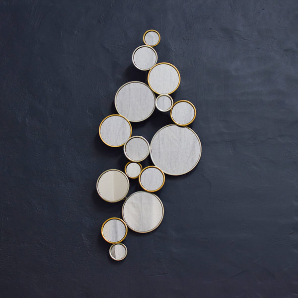 circle cluster mirror