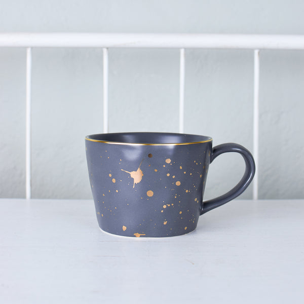Dark Grey Artisan Mug