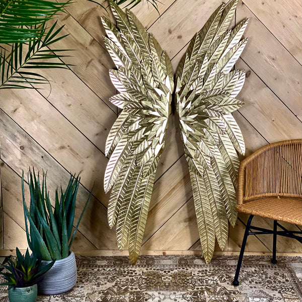 Gold Wings Wall Art