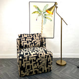 Abstract Lux Club Chair