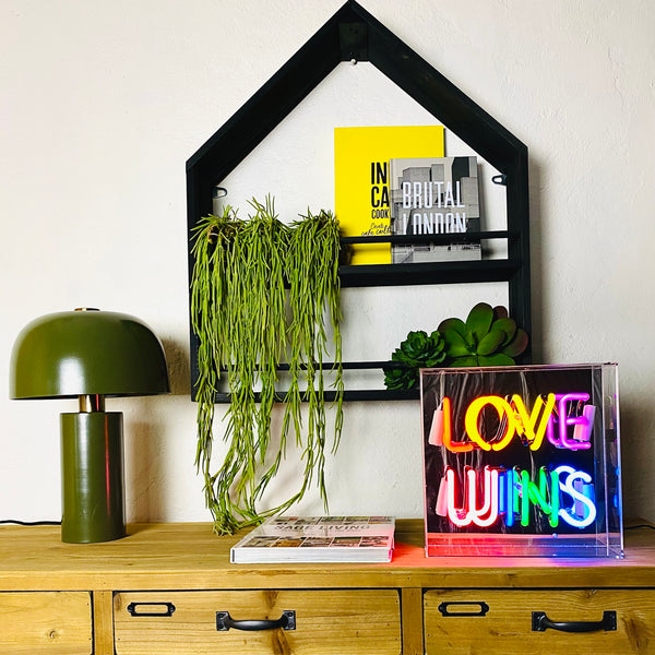 Love Wins Neon Light Box