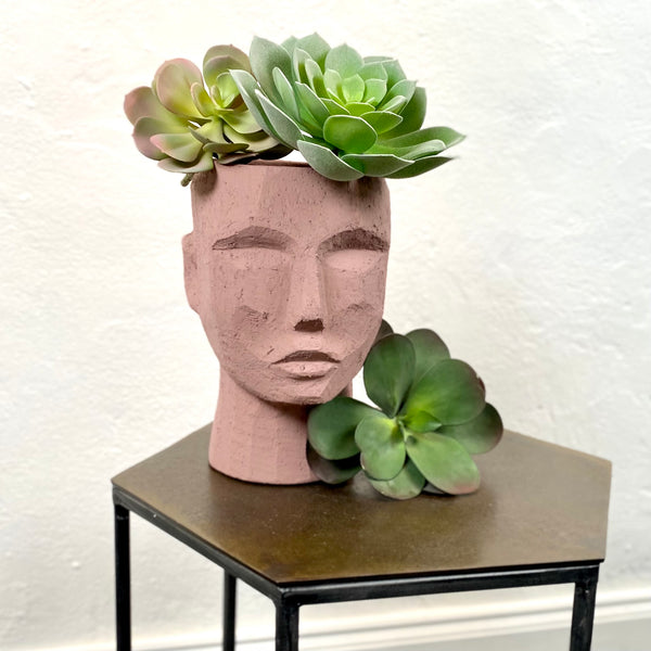 Terracotta Planter Head