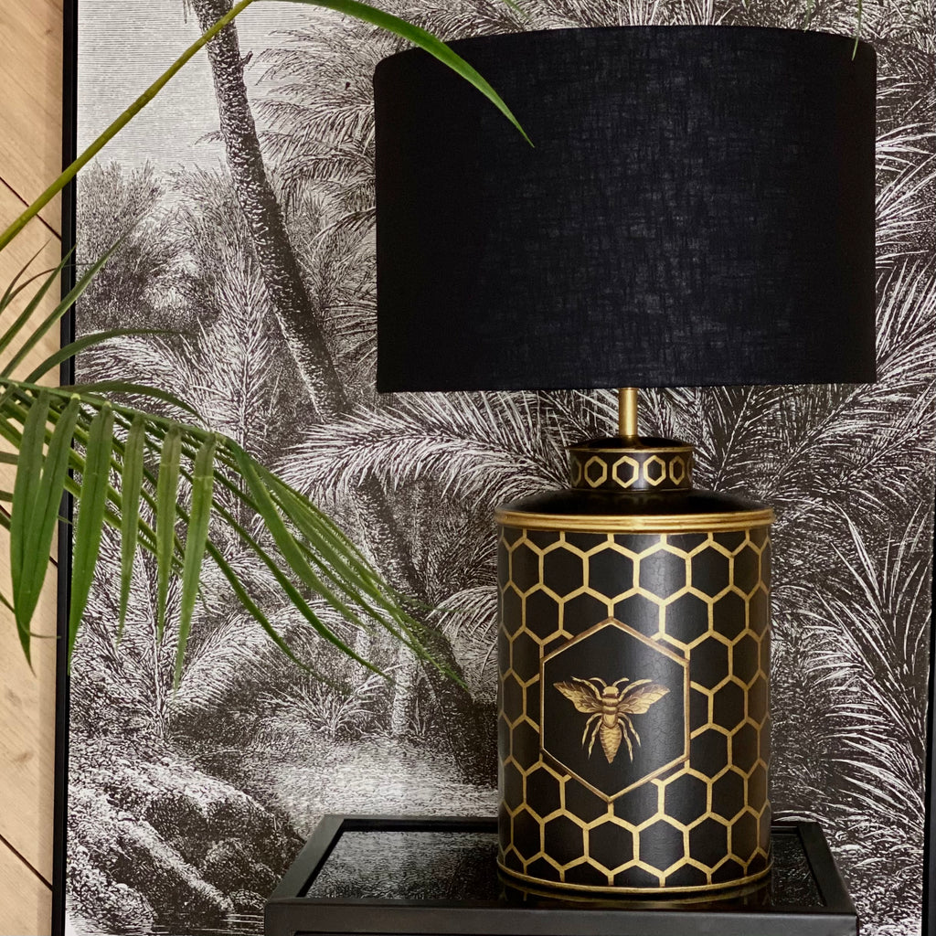 Black Bee Lamp