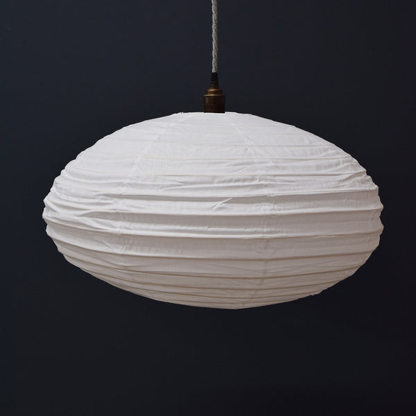 white oval cotton light
